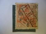 Stamps Japan -  Volcán de Fujiyama (Islas de Honsho) - Scott/172a
