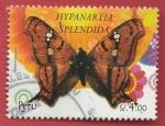 Stamps : America : Peru :  Hypanartia Splendida