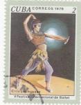 Stamps Cuba -  V festival Internacional de Ballet