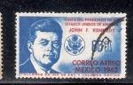 Sellos del Mundo : America : México : Visita del presidente de los Estados Unidos, John F, Kennedy