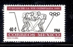 Sellos de America - México -  Juegos de la XIX Olimpiada, 1968