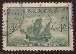 Stamps Canada -  Buque
