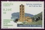 Sellos de Europa - España -  ESPAÑA - Iglesias románicas catalanas del valle del Boí