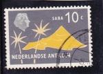 Sellos de America - Antillas Neerlandesas -  isla de Saba