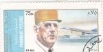 Sellos de Asia - Emiratos Árabes Unidos -  general Degaulle- avión Concorde