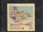Stamps Australia -  servicio postal