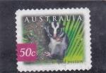 Stamps Australia -  striped possum