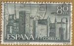 Sellos de Europa - España -  Monasterio de Ntra. Sra. de Guadalupe