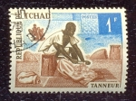 Stamps Chad -  Profesiones y oficios locales