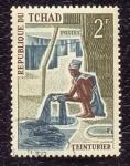 Sellos de Africa - Chad -  Profesiones y oficios locales