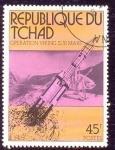 Stamps : Africa : Chad :  operación vikingo en marte