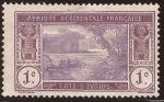 Sellos de Africa - Costa de Marfil -  Laguna Ébrié 1913  1 cent