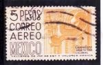 Sellos de America - México -  Querétaro-arquitectura colonial