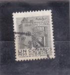 Stamps : America : Mexico :  Hidalgo-arqueología arq.colonial