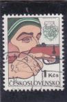 Stamps Czechoslovakia -  tiro