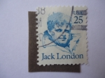 Stamps United States -  Jack London. Scott/2182.