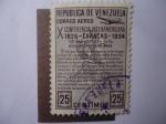 Sellos de America - Venezuela -  X Conferencia Interamericana 1826-Caracas 1954.