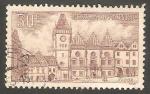 Stamps Czechoslovakia -  825 - Ayuntamiento de Tabor