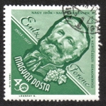 Stamps Hungary -  Personalidades