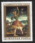Sellos de Europa - Hungría -  Pinturas de Francia