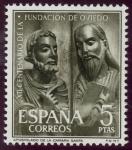 Stamps Spain -  ESPAÑA - Monumentos de Oviedo y del reino de Asturias