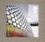 Stamps of the world : United Kingdom :  Arquitectura moderna