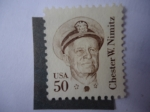 Stamps United States -  Almirante:Chester William. Nimitz 1885-1966- Scott/US:1869
