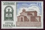 Stamps of the world : Spain :  ESPAÑA - Monumentos de Oviedo y del reino de Asturias