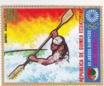 Sellos del Mundo : Africa : Guinea_Ecuatorial : juegos olímpicos Augsburgo-72