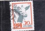Stamps North Korea -  cabra