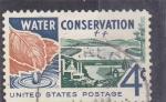 Stamps United States -  conservación del agua