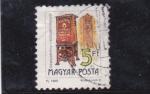 Stamps Hungary -  .