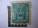 Stamps Venezuela -  Monumento y Urna-Cineraria de Simón Bolívar-Panteón Nacional.