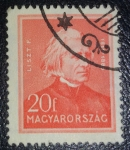 Stamps Europe - Hungary -  Personalities