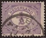 de Europa - Holanda -  N�meros  1899 1/2 c�ntimos