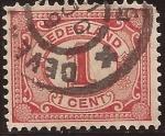 de Europa - Holanda -  N�meros  1899 1 c�ntimo