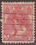 de Europa - Holanda -  Reina Guillermina  1899 5 c�ntimos