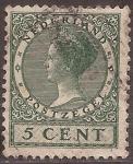 de Europa - Holanda -  Reina Guillermina  1925 5 c�ntimos