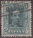 Stamps Europe - Spain -  Alfonso XIII  1922 15 céntimos