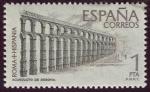 Stamps Spain -  EPAÑA: Casco antiguo y Acueducto de Segovia