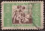 Sellos de Europa - España -  Hogar Escuela de Huérfanos de Correos  1934 10 céntimos
