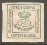 Stamps : Europe : Spain :  Corona Real