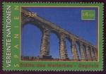 Sellos del Mundo : America : ONU : ESPAÑA - Casco antiguo y Acueducto de Segovia