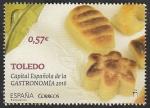 Stamps Spain -  5023 - Toledo, Capital Española de la Gastronomía 2016