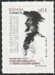 Stamps Europe - Spain -  5025 - IV Centº del fallecimiento de Miguel de Cervantes