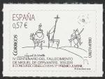 Stamps Europe - Spain -  5026 - IV Centº del fallecimiento de Miguel de Cervantes