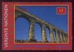 Sellos del Mundo : America : ONU : ESPA�A - Casco antiguo y Acueducto de Segovia