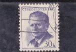 Sellos de Europa - Checoslovaquia -  presidente Antonin Novotny