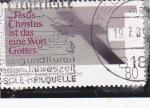 Stamps Germany -  Jesucristo es la palabra de Dios
