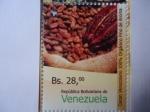 Sellos de America - Venezuela -  República Bolívariana de Venezuela - Cacao Venezolano 100% Orgánico Fino Aroma - 2015.